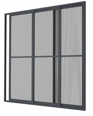 The Sliding Framed Mosquito Net System Is Applicable In Large Glazed Balcony Terrace And Winter Garden Recesses Mounted Directly To